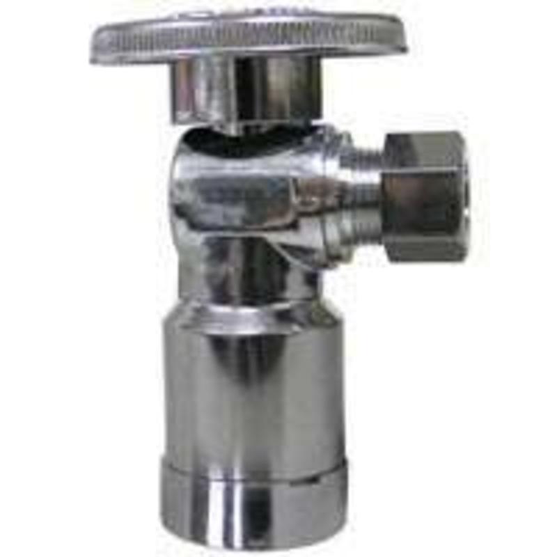 1/4 Turn Supply Stop Chrome Watts Stop Valves LF QC894A 042805449356