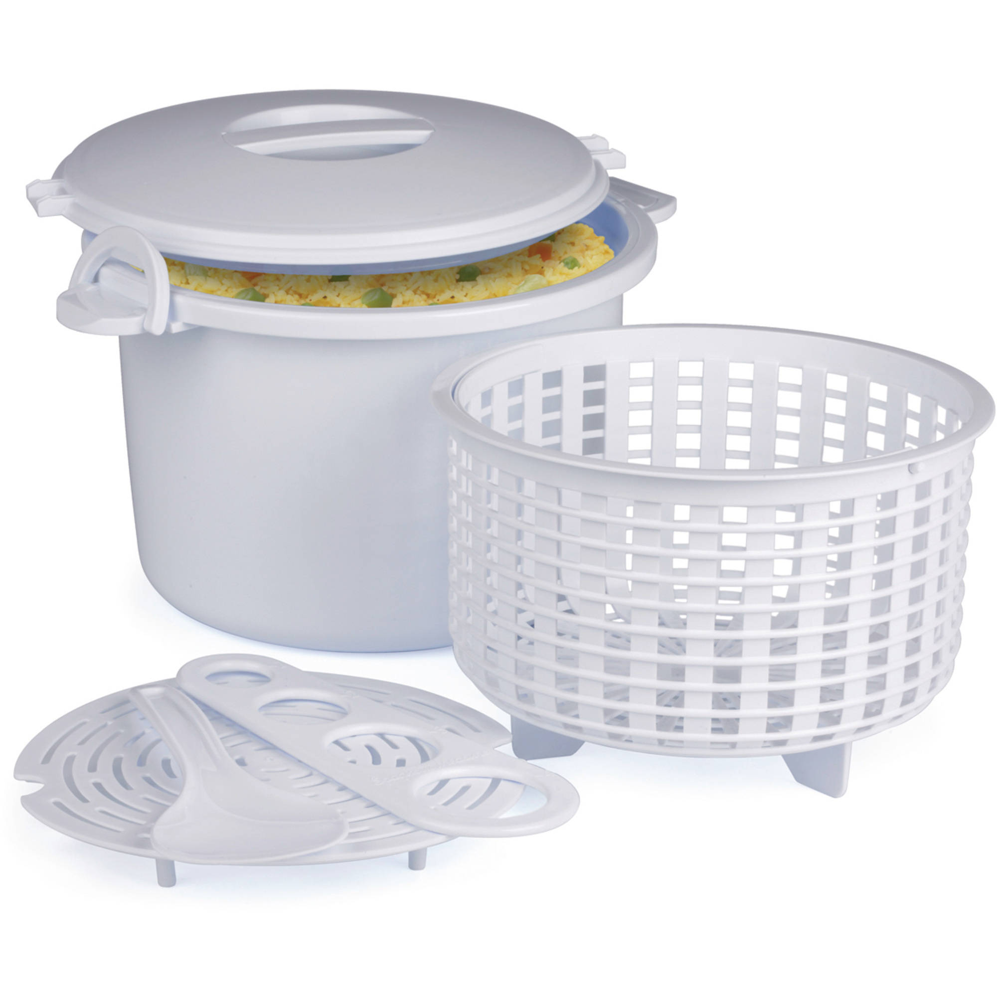 Prep Solutions by Progressive Microwave Rice and Pasta Cooker
