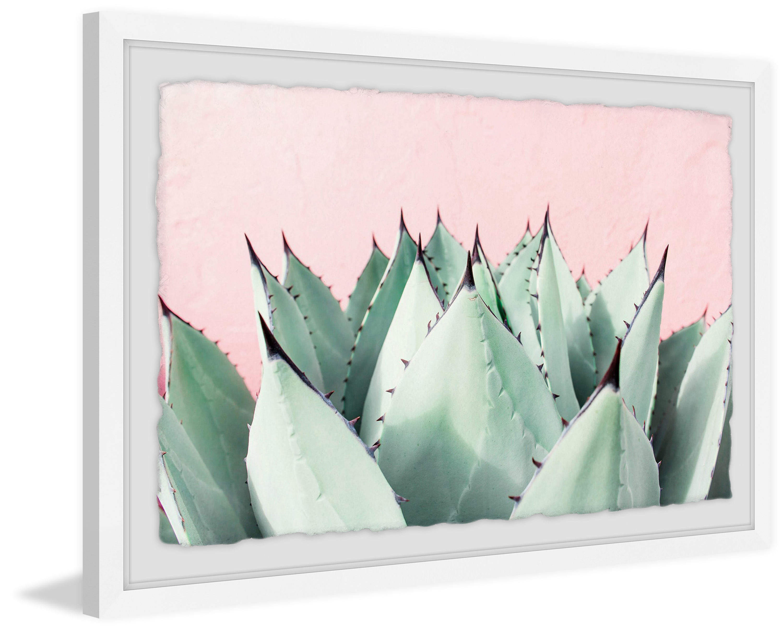 Sweet Succulents Framed Painting Print Walmart Com Walmart Com