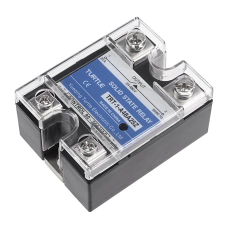 90-280V to  24-480V 25A Single Phase Solid State Relay Module  to