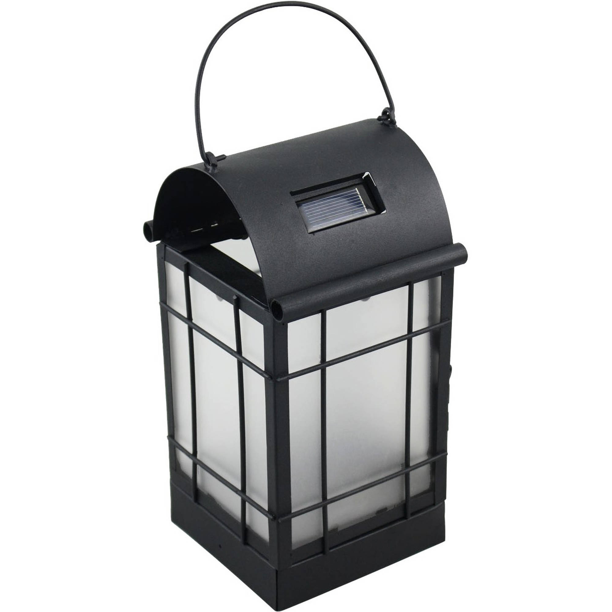 Moonrays 91172 Archer Metal Solar LED Lantern