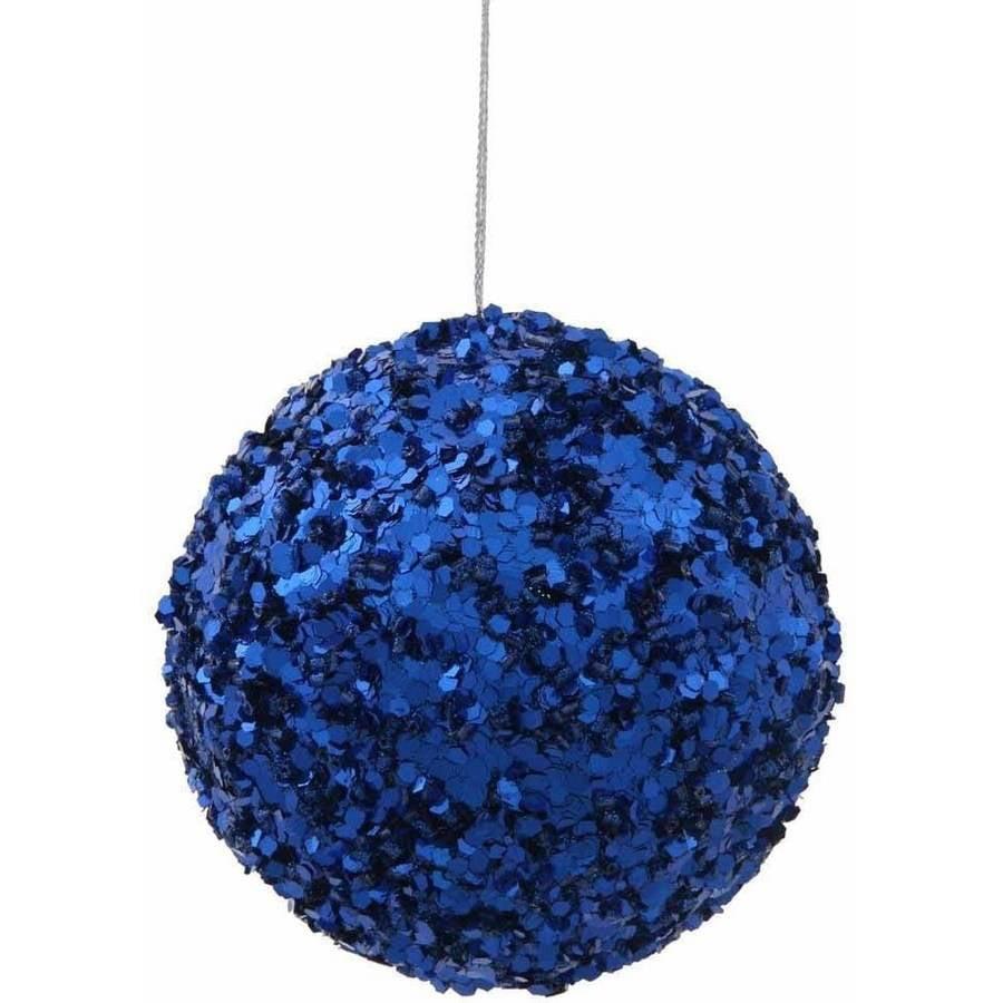"Vickerman 3.5"" Sparkle Sequin Ball Christmas Ornament"