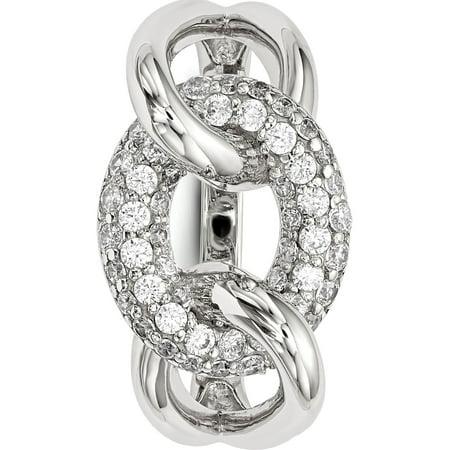 925 Sterling Silver CZ Ring - image 1 de 4