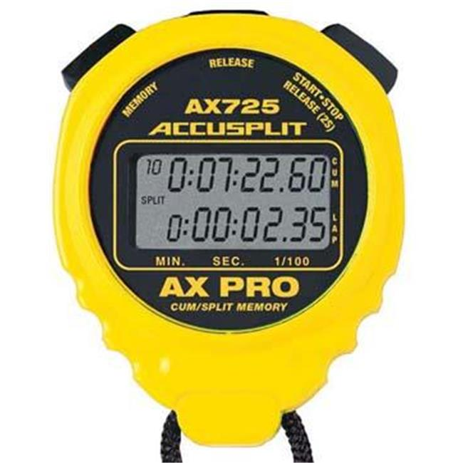 Olympia Sports TL004P ACCUSPLIT AX725 Pro Timer - Yellow