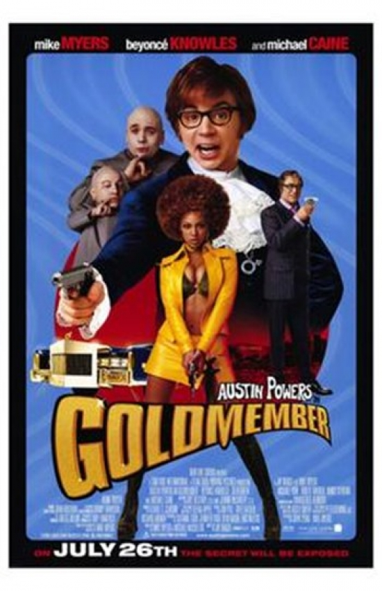 Austin Powers in Goldmember Movie Poster (11 x 17) by Pop Culture Graphics