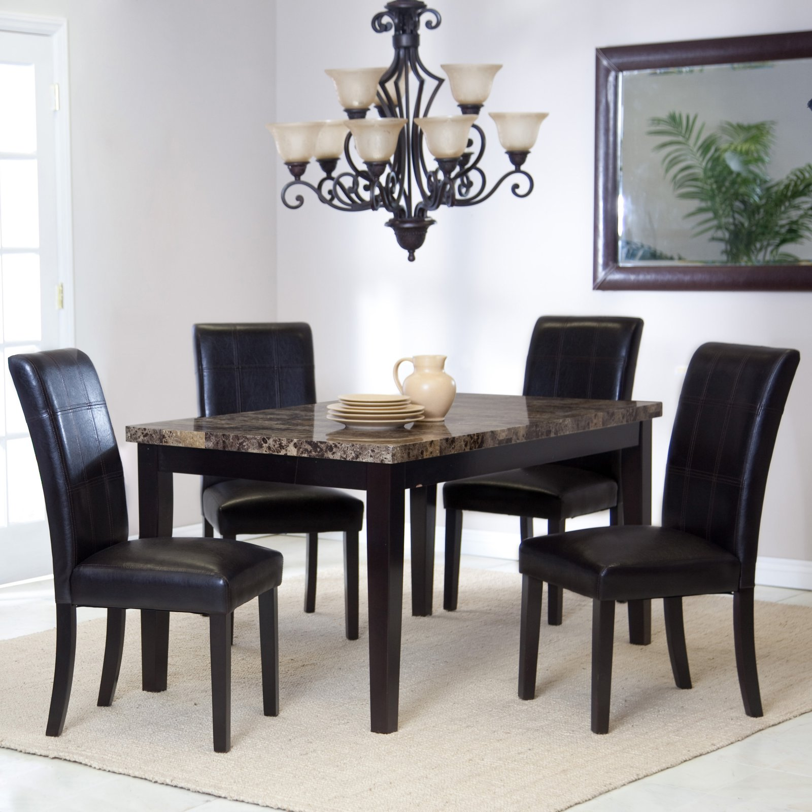 Palazzo 5-piece Dining Room Set by Weicheng (HK) Industrial Trade Co Ltd