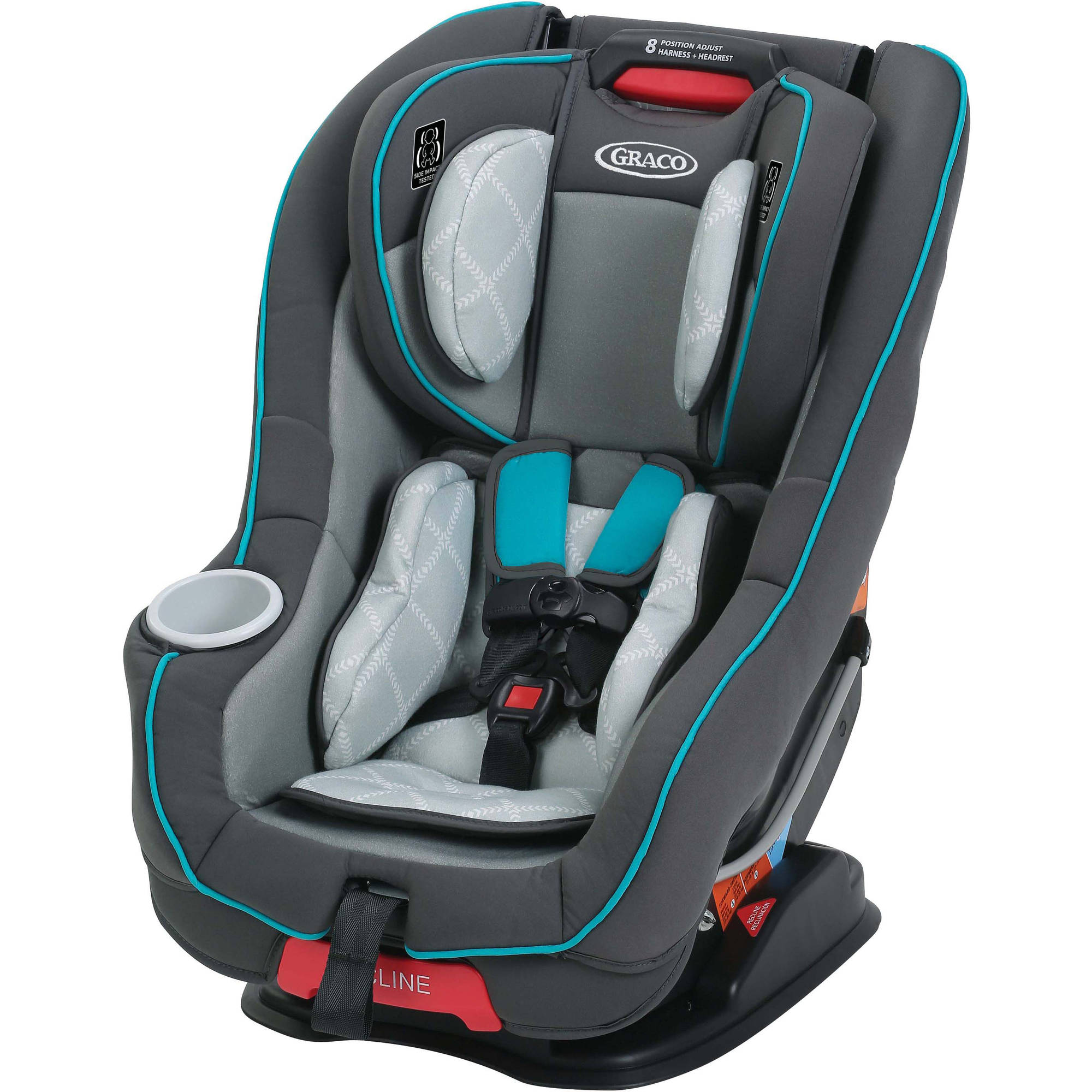 Graco Size4Me 65 Convertible Car Seat with RapidRemove Cover, Choose Your Pattern