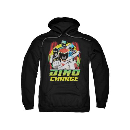 Power Rangers Children's Cartoon TV Series Dino Charge! Adult Pull-Over - Power Ranger Hoodies For Adults