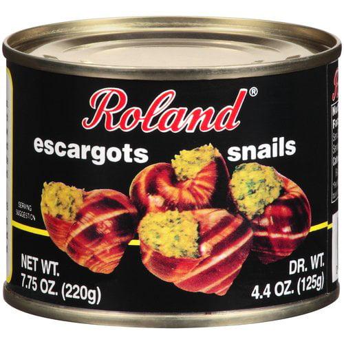 Roland Giant Escargots Snails, 7.75 oz, (Pack of 6)