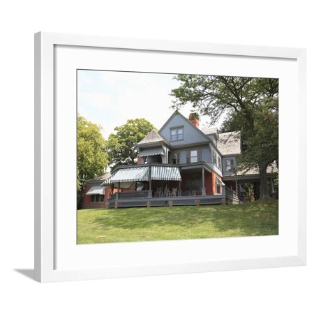 Sagamore Hill, Home of President Theodore Roosevelt, National Park, Oyster Bay, Long Island Framed Print Wall Art By Wendy Connett