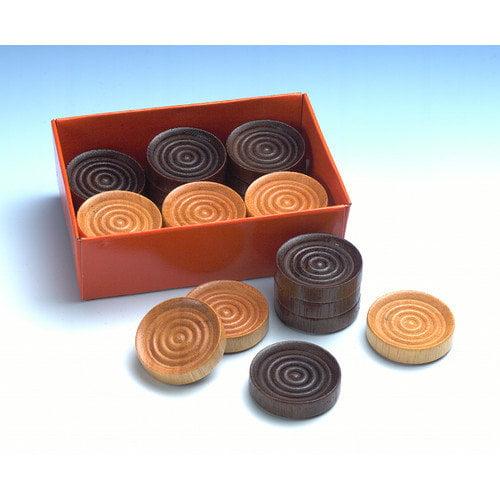 Drueke 1.25'' Wood Checkers