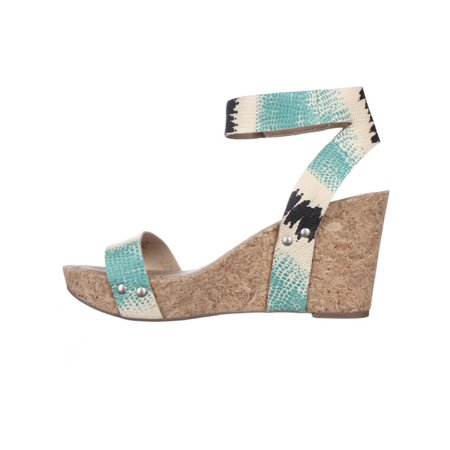 189a2f232fee Lucky Brand Mcdowell Cork Wedge Sandals