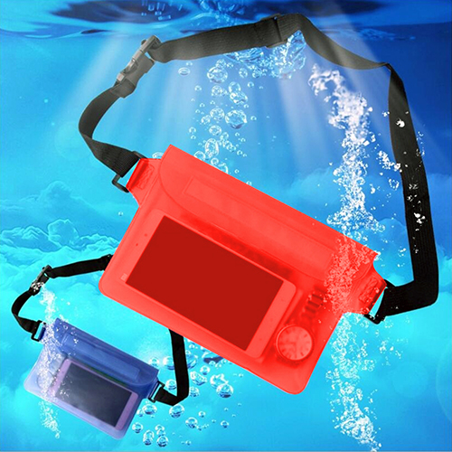 (Asian Size)Unisex Outdoor Sport Swimming Waterproof Belt Money Wallet Pouch Hip Bag Pack