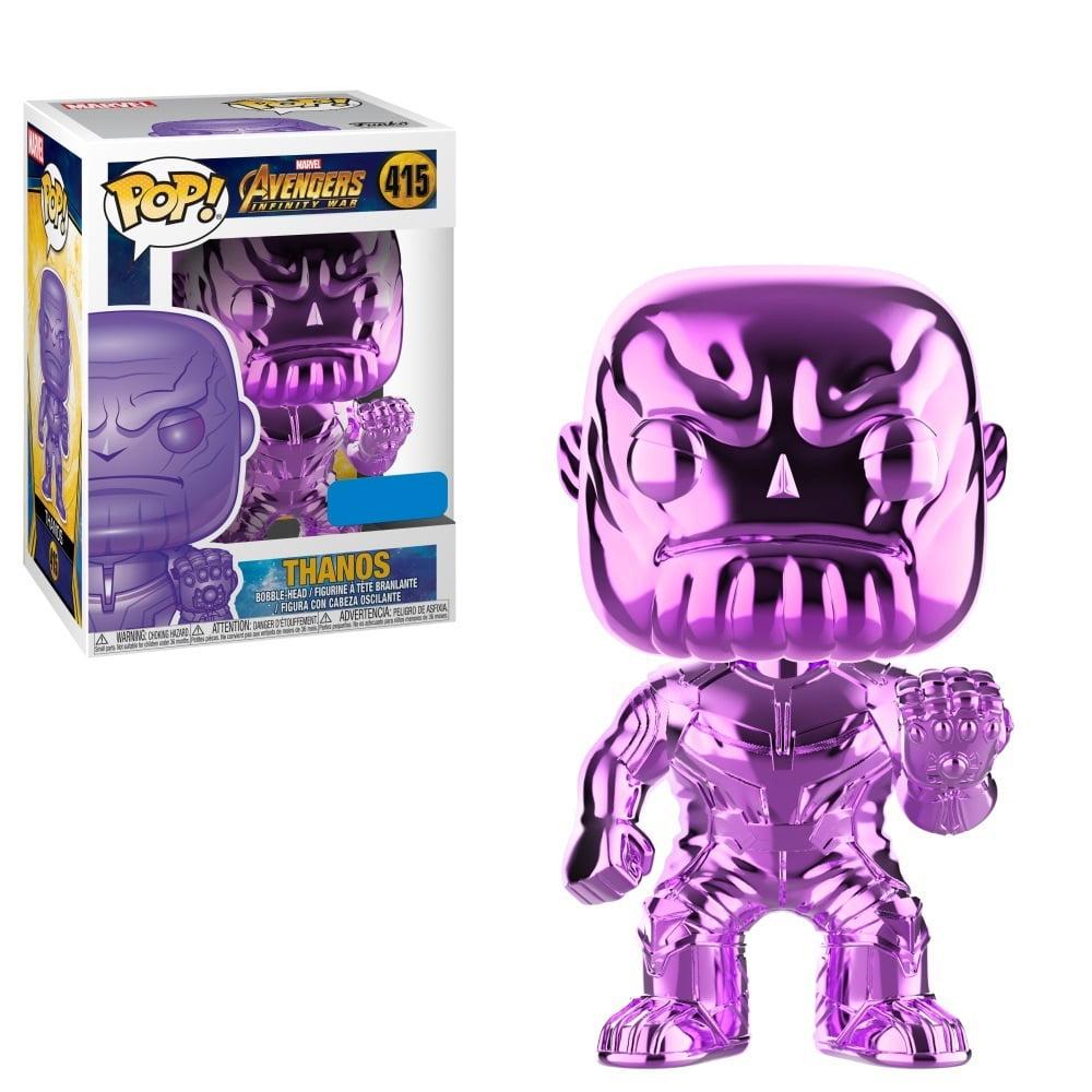 Funko POP - Avengers: Infinity War - Thanos - Purple Chrome Exclusive