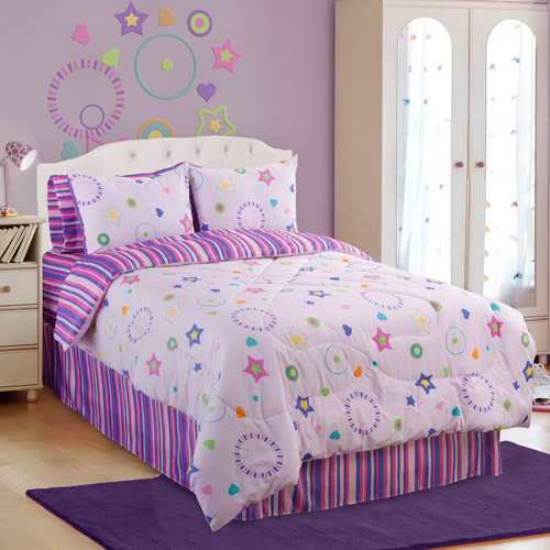 Veratex, Inc. Star Dance Reversible Comforter Set