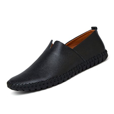 AU Men Casual Moccasin Genuine Leather Loafers Driving Boat Flat Slip On Shoes   - image 1 de 2