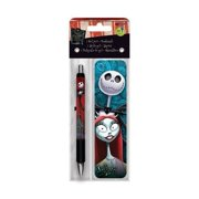 1 X The Nightmare Before Christmas Gel Pen and Bookmark Pack