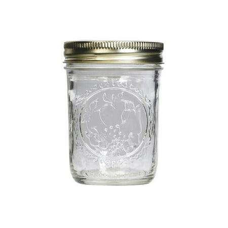 Ball 60000 Glass 8 Oz. Mason Jars with Lids / Bands - 12 / CS