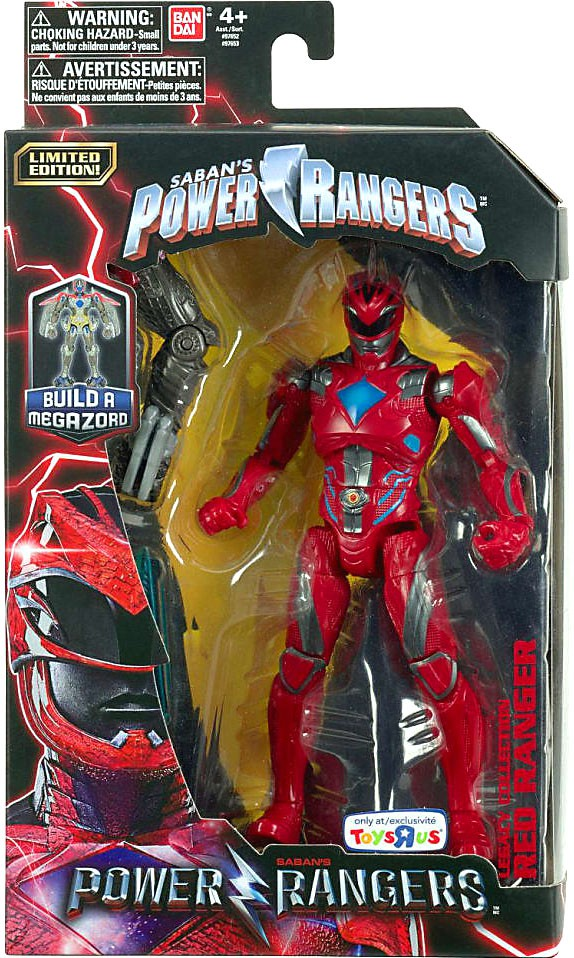 Power Rangers Legacy Build A Megazord Red Ranger Action Figure [Movie] by Power Rangers