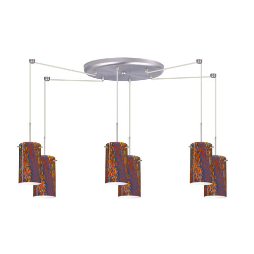Besa Lighting Stilo 6 Light Mini Pendant