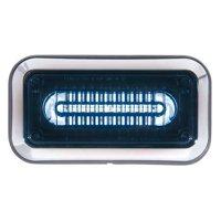 CODE 3 3712BBZ-75 Perimeter Light,LED,Blu,Surface,Rect,9 L