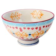 9 in. Bowl in Multicolor - Set of 4