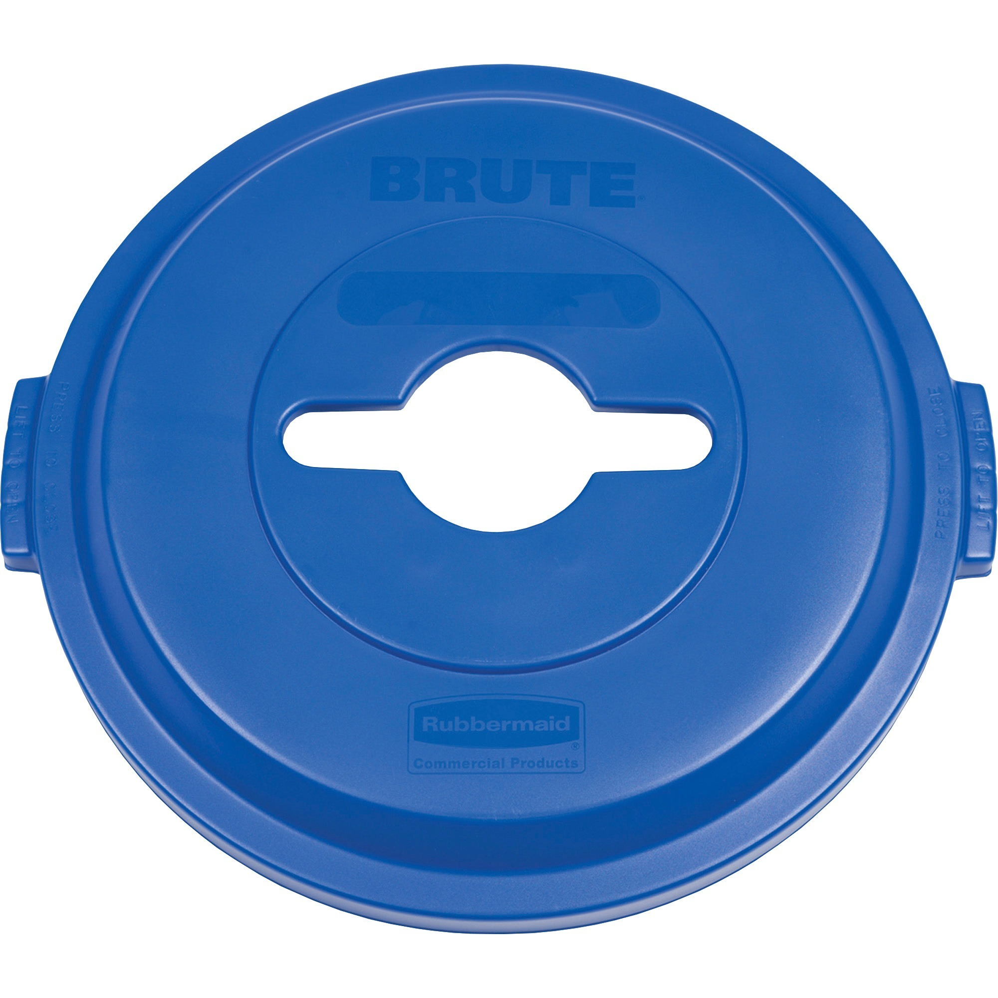 Rubbermaid Commercial, RCP1788380, Brute Hvy-Duty Recycling Container Lid, 1 Each, Blue