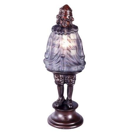 Dale Tiffany 1642 Antique Bronze Scotch Boy Plaid 1 Light 13