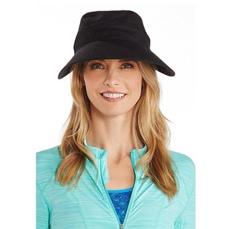 57b687eae Coolibar Women's Zip-Off Sun Visor