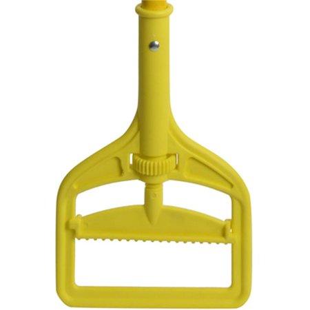 Janico 3203 PE Fiberglass Screw Mop Handle, Yellow - image 1 de 1