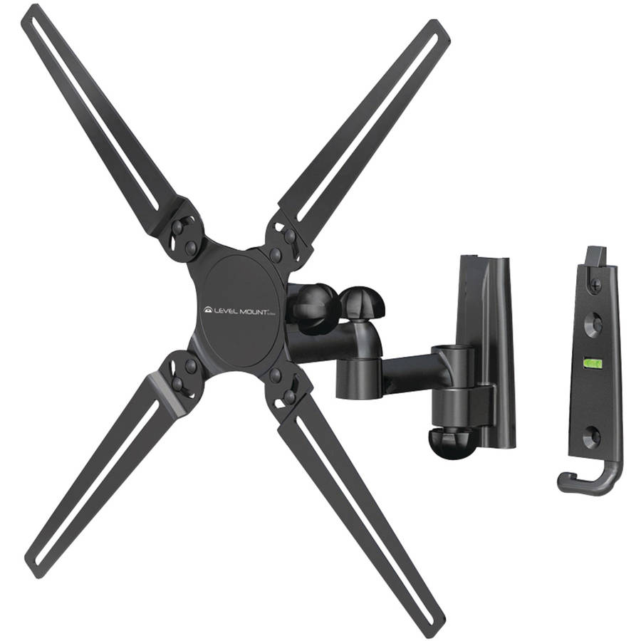 Level Mount by Elexa DC30DJ Full-Motion Dual-Arm TV Mount