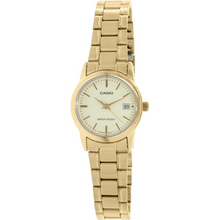 Casio Women's LTPV002G-9A Gold Stainless-Steel Plated Japanese Quartz Dress Watch - image 3 of 3