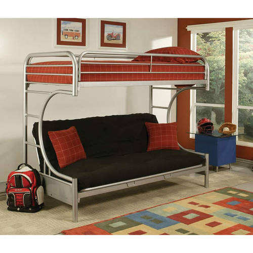 Eclipse Twin Over Full Futon Bunk Bed Multiple Colors Walmartcom