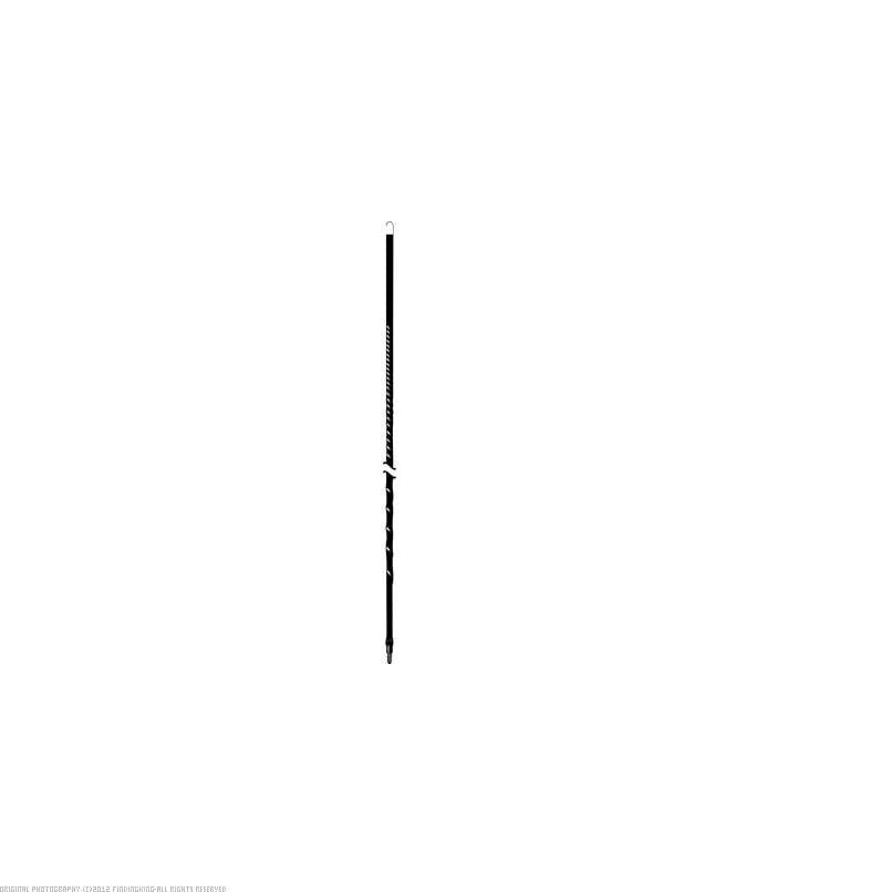 Accessories Unlimited AU4-B 4 ft. Fiberglass Antenna Black