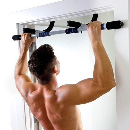 Pure fitness multi purpose doorway pull up bar walmart.com