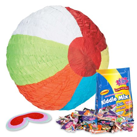 Beach Ball Pinata Kit - Party Supplies