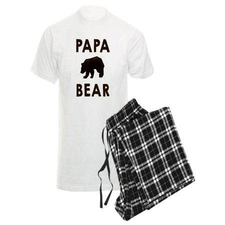 CafePress - Papa Bear Pajamas - Men
