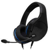 HyperX Cloud Stinger Core - Gaming Headset for PS4, Playstation 4, Nintendo Switch, Xbox One headset, Over-ear wired headset with Mic, passive noise cancelling, VR, HX-HSCSC-BK
