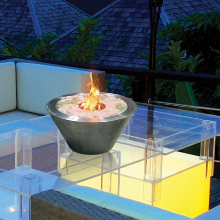 Anywhere Fireplaces Anywhere Fireplaces Glass Gel Tabletop
