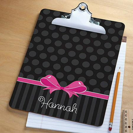Personalized Sweet Bow Clipboard