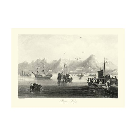 Scenes in China XII Print Wall Art By T. Allom