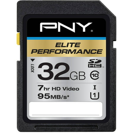 Pny 1024mb Pc - PNY 32GB Elite Performance SDHC 95MB/s Memory Card