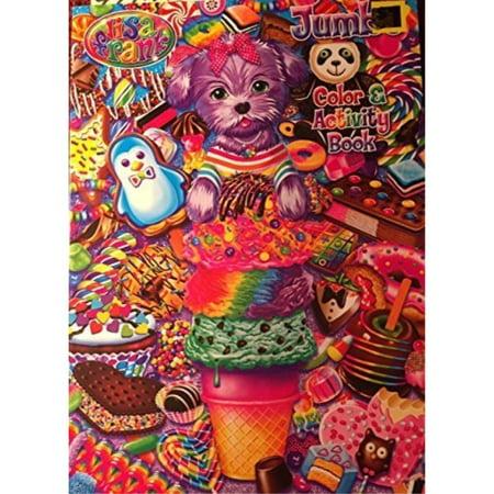 lisa frank holiday jumbo color & activity book ()