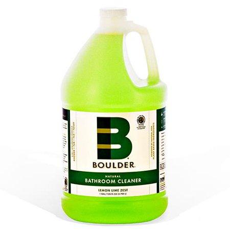 Boulder Clean - NEW-BATH-1G-4CS - BOULDER® Lemon Lime Zest Bathroom Cleaner