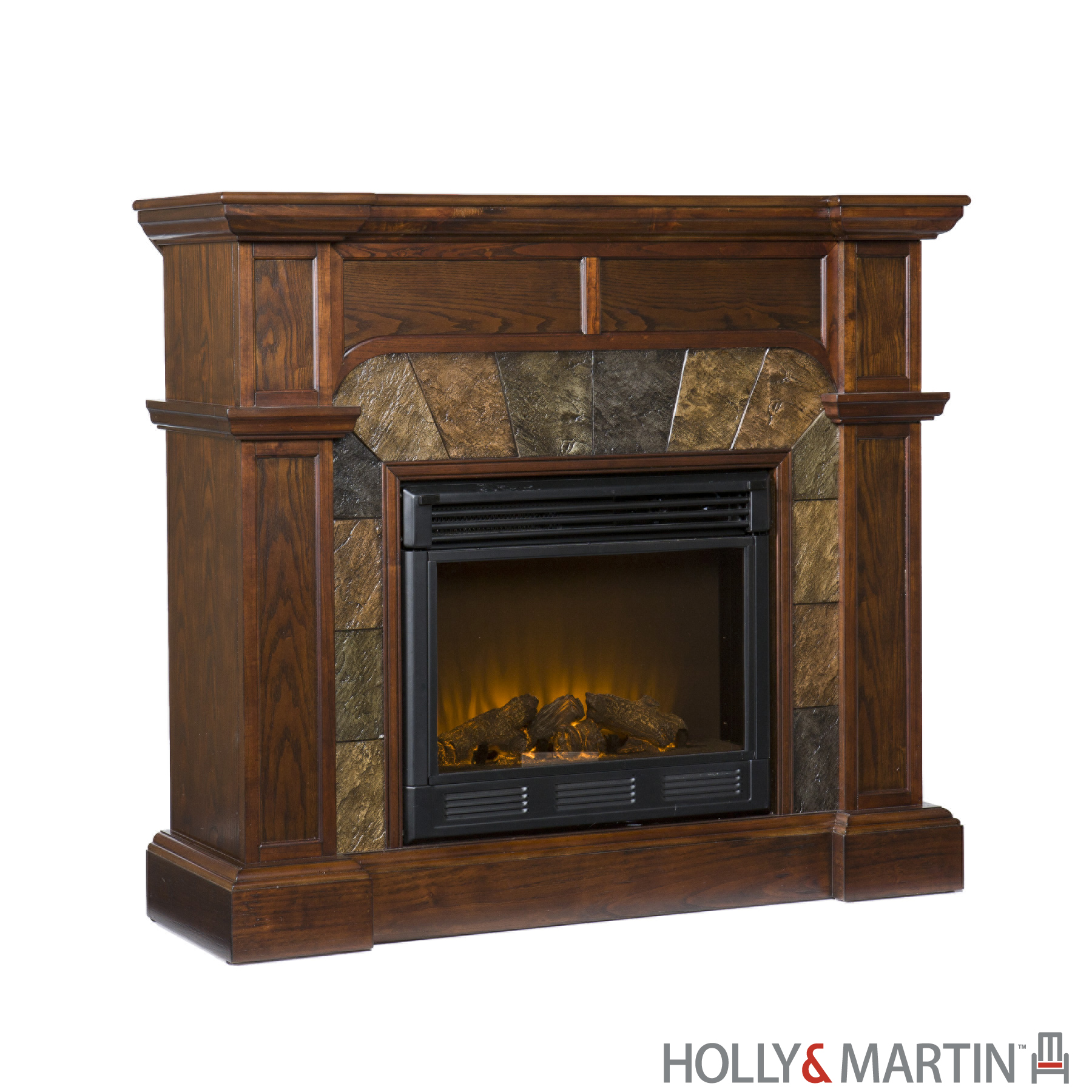 Southern Enterprises 37-081-023-0-12 Cartwright Convertible Electric Fireplace - Classic Espresso