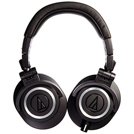 Audio-Technica ATH-M50x Professional Studio Monitor - Closed Back Studio Monitor Headphones
