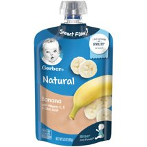 Baby Food: Gerber Pouches