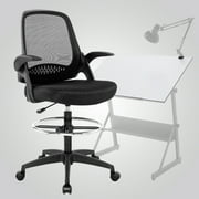 Ergonomic Mid-Back Mesh Drafting Chair