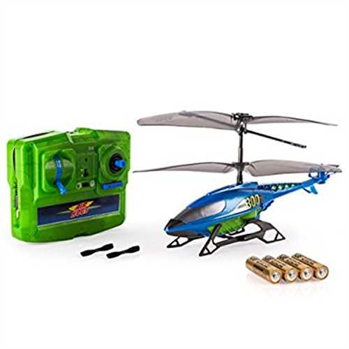 Air Hogs, Axis 300x RC Helicopter With Batteries Blue & Green by
