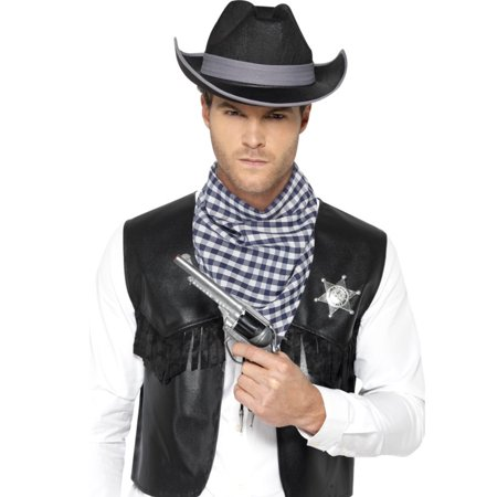 Adult's Mens Western Gunslinger Outlaw Sheriff Costume (Women's Gunslinger Costume)